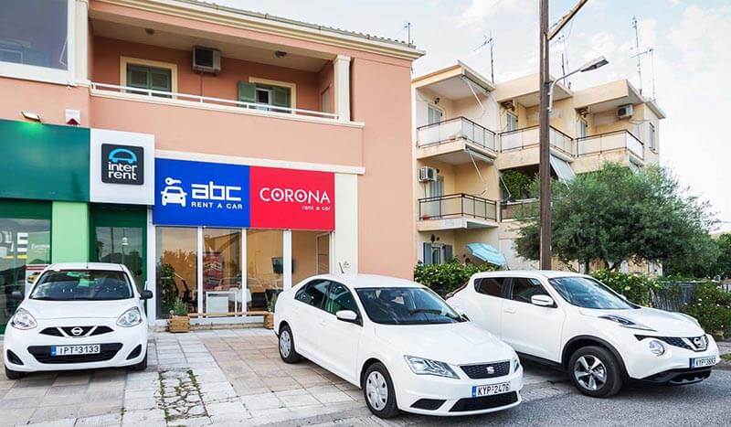 The ABC Rent A Car office is located 400 meters away from Corfu International Airport.