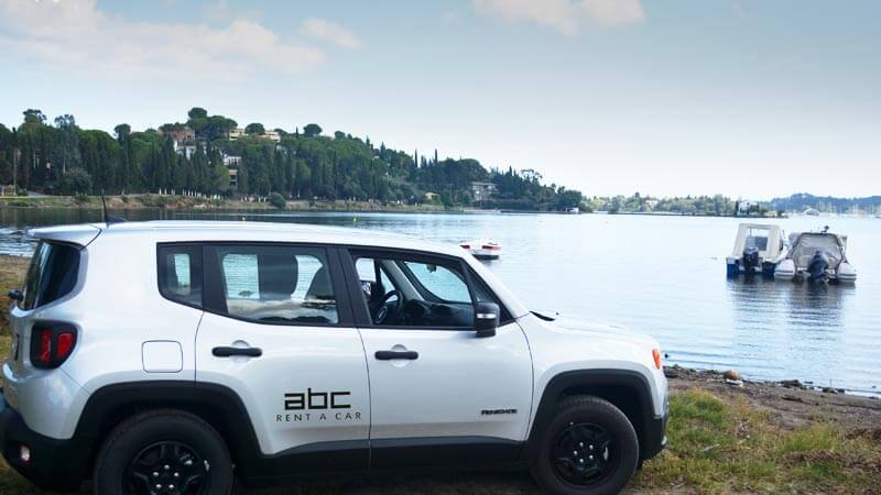 ABC Rent A Car delivers cars anywhere in Corfu Island.