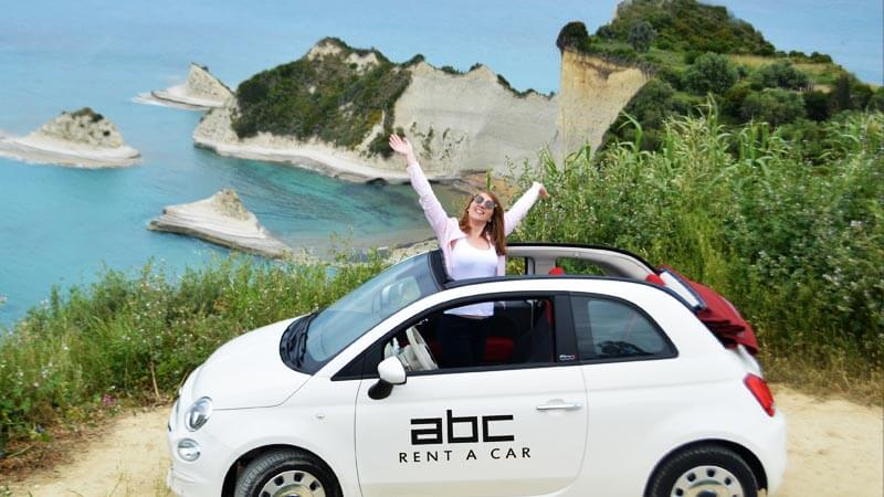 Explore Corfu Island with a car from ABC Rent A Car.