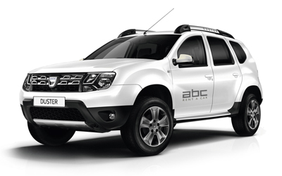 Dacia Duster by ABC Rent A Car Corfu Airport.