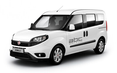 Fiat Doblo by ABC Rent A Car Corfu Airport.