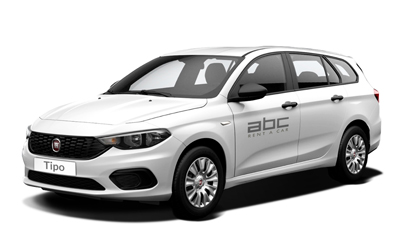 Fiat Tipo Wagon by ABC Rent A Car Corfu Airport.