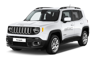 Jeep Renegade by ABC Rent A Car Corfu Airport.