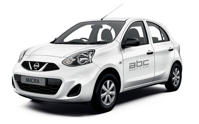 Nissan Micra by ABC Rent A Car Corfu Airport.