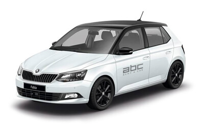 Scoda Fabia by ABC Rent A Car Corfu Airport.