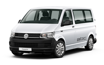 Volkswagen Transporter by ABC Rent A Car Corfu Airport.