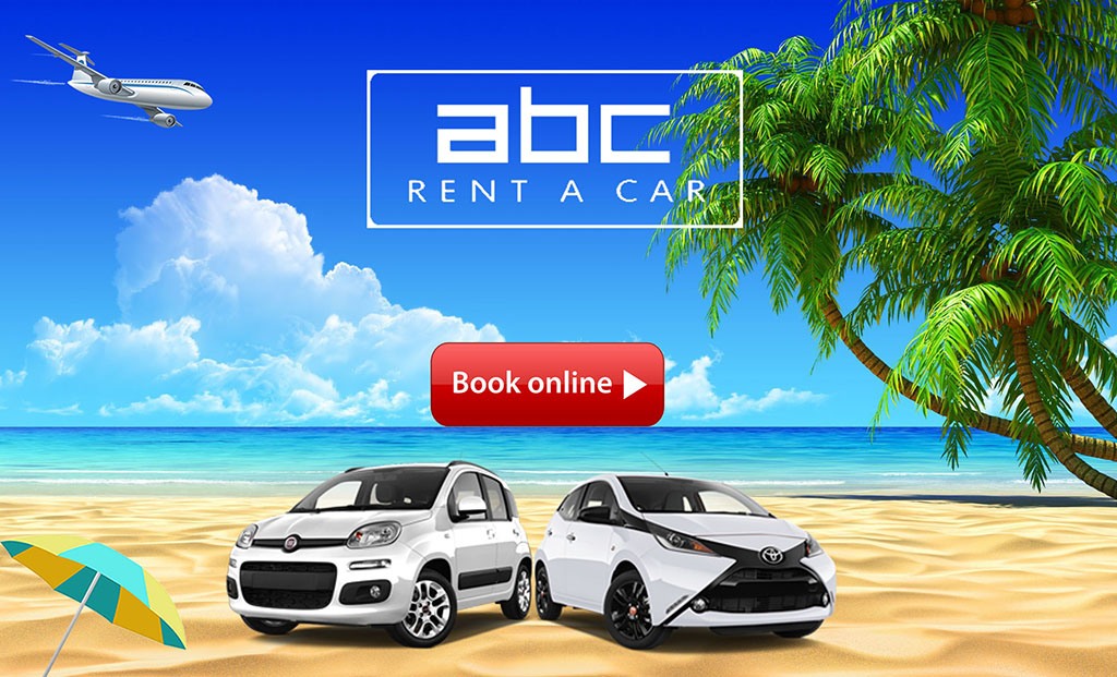 The new website of ABC Rent A Car in Corfu.